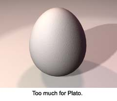 Too much for Plato